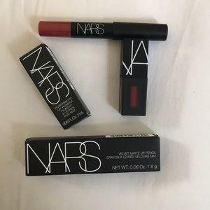 NARS Dolce Vita Lip Pencil & Starwoman Lip